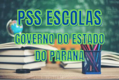 GOVERNO DO ESTADO DO PARANA DIVULGA PSS COM VAGAS DISPONÍVEIS PARA ORTIGUEIRA