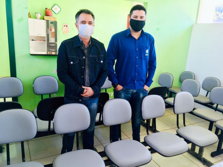 Haddad faz doação de longarinas para velório de Mariápolis