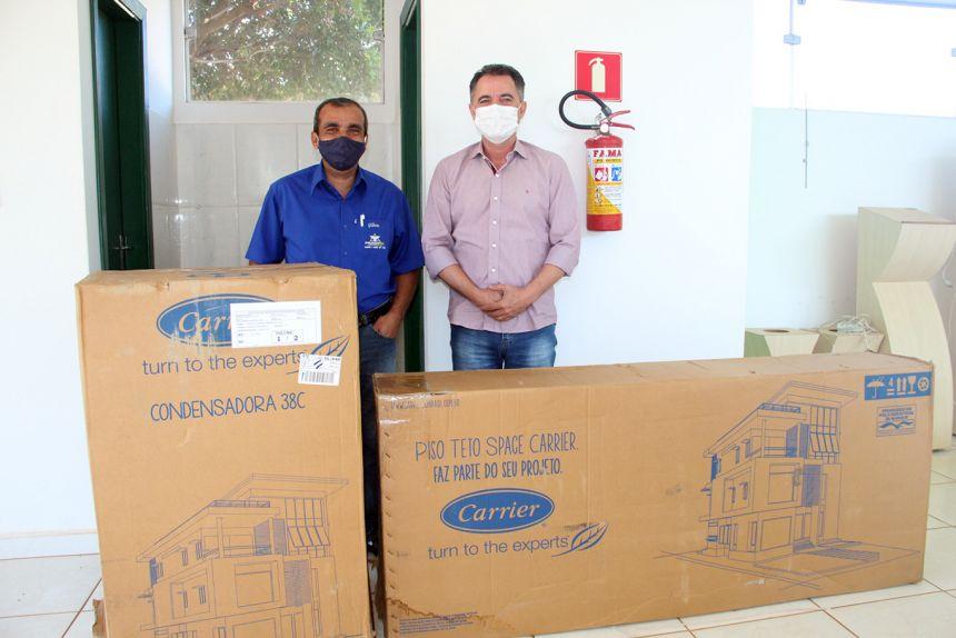 Prudenpax doa ar condicionado para velório municipal de Mariápolis