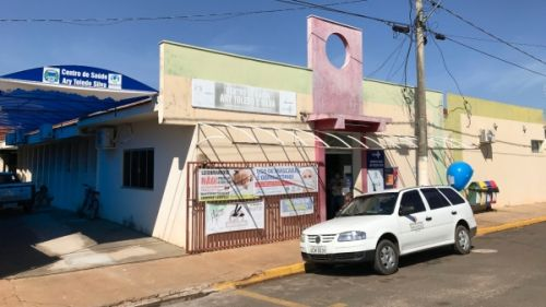 Estrutura da Secretaria Municipal de Saúde está concentrada no Centro de Saúde (foto), Centro de Reabilitação e UBS Eronis Barbosa da Silva