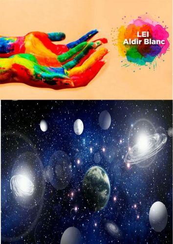 """Curso foi realizado através de 5 vídeos, publicados na plataforma do YouTube, """"ASAUM - Eu e o Universo - AULA 1 A AULA 5 - Curso básico de astronomia"""". #LeiAldirBlancASAUM #TransparenciaLeiAldirBlanc"""