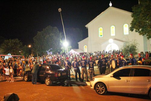 Público prestigia a Banda Marcial