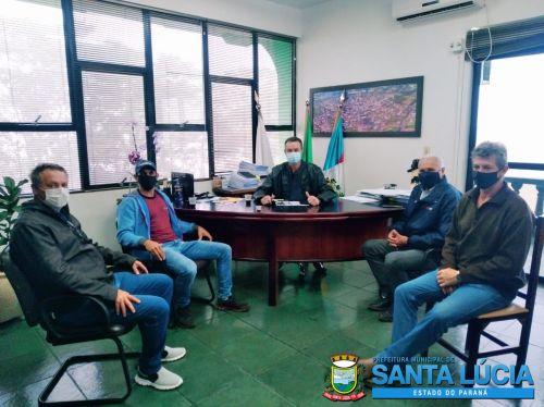 Prefeito Renato Tonidandel recebe visita de empresários do Parque Industrial