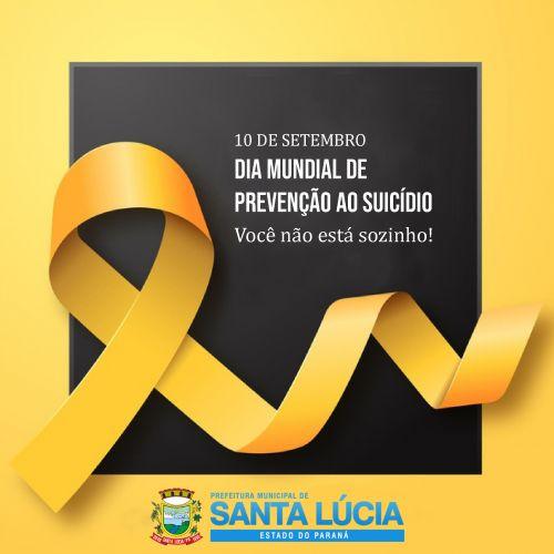 10 de setembro - Dia Mundial da Prevenção do Suícidio