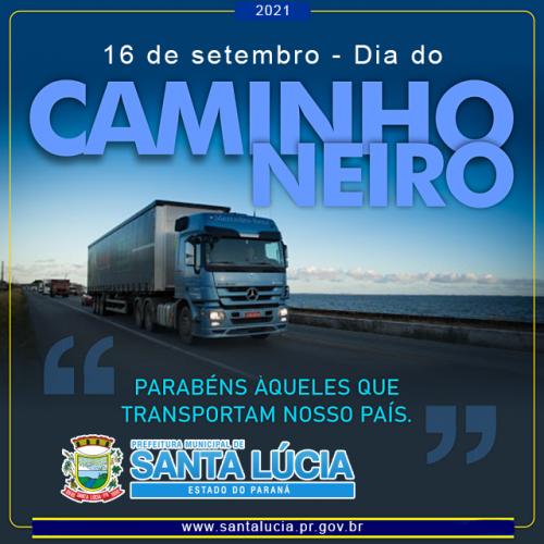 16 de setembro - Dia Nacional do Caminhoneiro