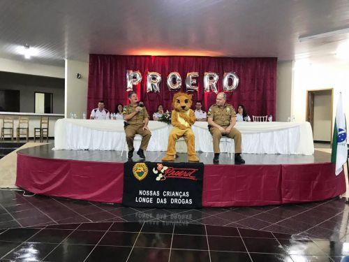 Formatura do Proerd !!!