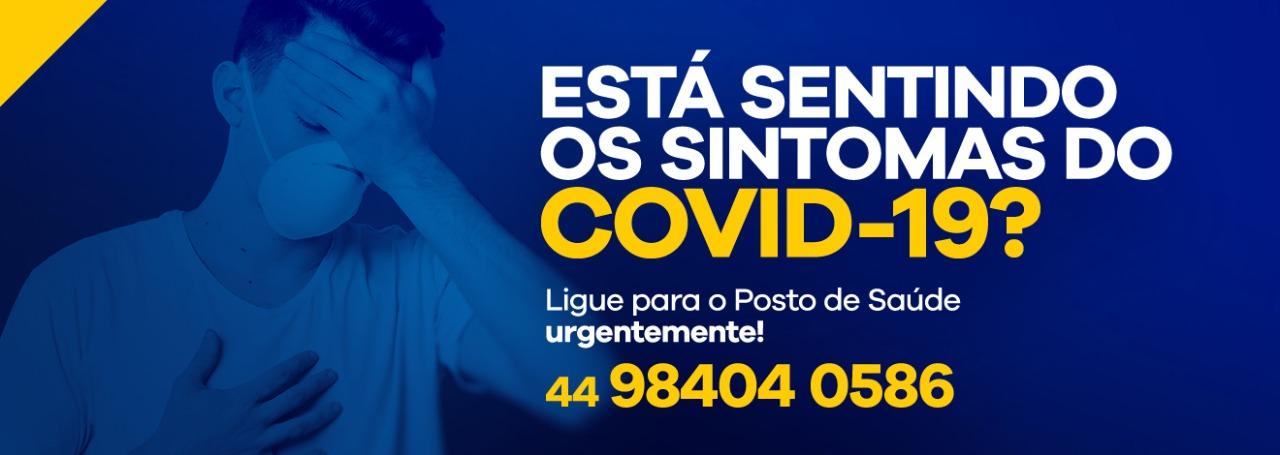 SINTOMAS DO COVID-19?