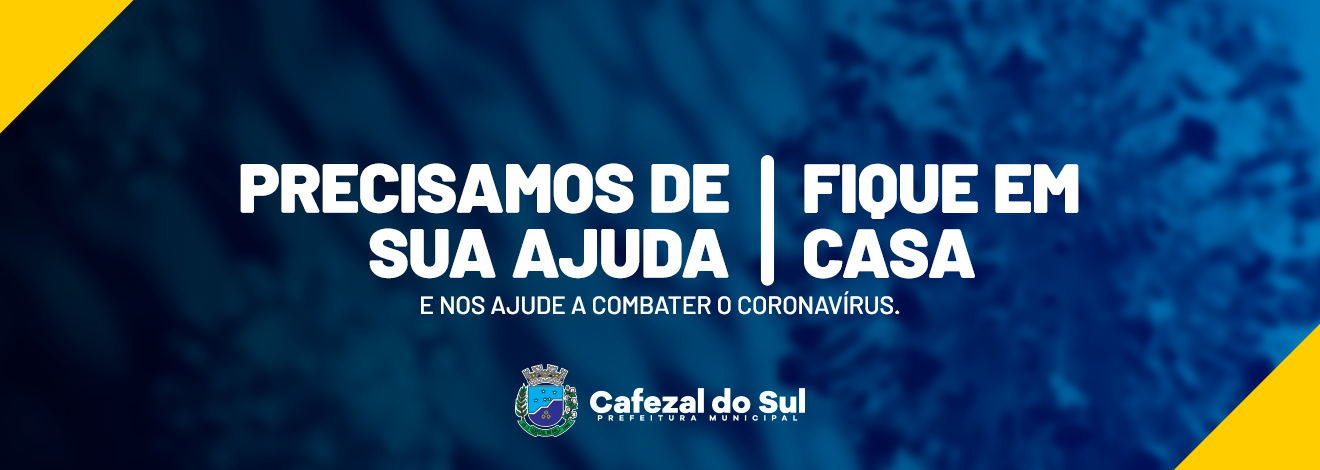 FIQUE EM CASA - CAPA