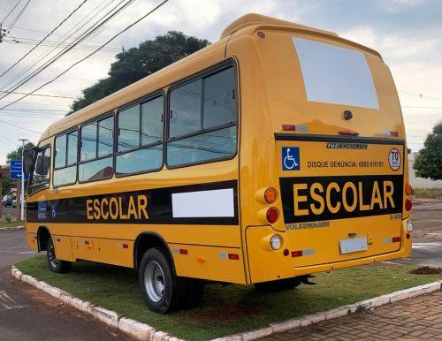 Secretaria de Educação recebe novo ônibus escolar