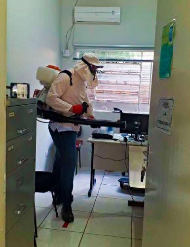 Realizada uma nova sanitização em Cafezal do Sul