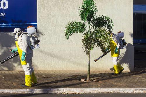 Secretaria de Saúde realiza Processo de Desinfecção