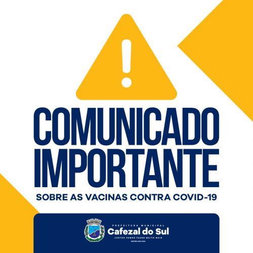 Covid-19 - Secretaria de Saúde recebe novas doses de vacina