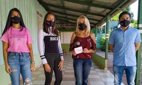 Mulheres em Ação - Voluntárias entregam máscara em homenagem ao Dia Nacional da Mulher