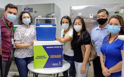 Cafezal do Sul recebe primeiras doses da vacina contra COVID-19