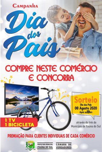 Prefeitura de Itaúna do Sul promove a Campanha do dia dos Pais
