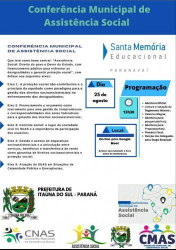 Conferência Municipal da Assistência Social