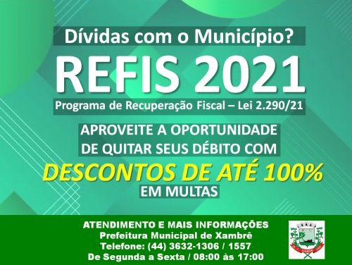REFIS MUNICIPAL 2021