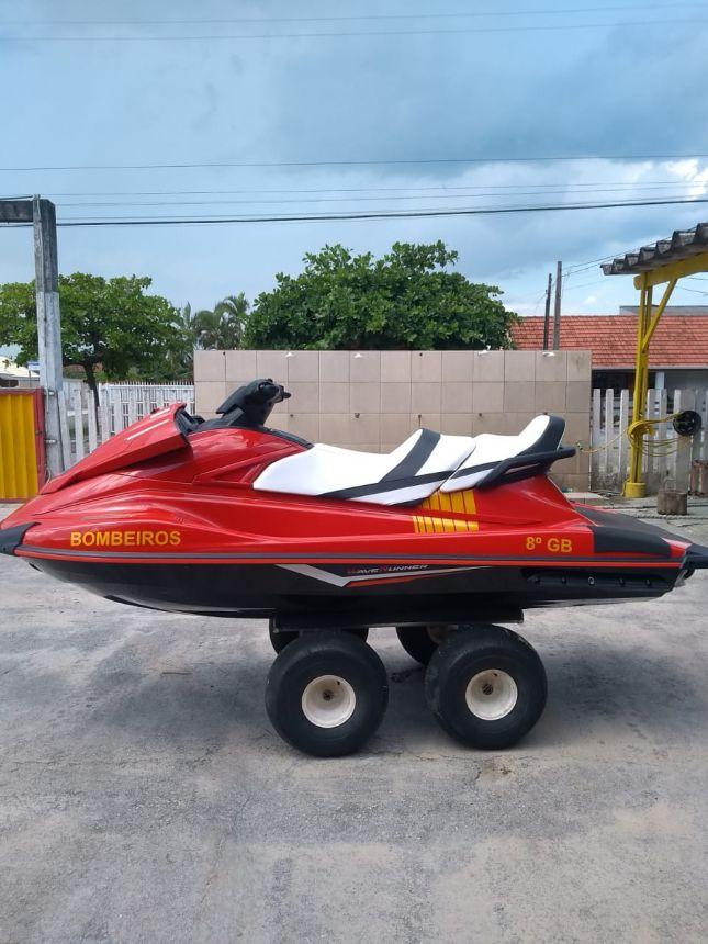Funrebom viabiliza moto aquática para Corpo de Bombeiros de Pontal do Paraná
