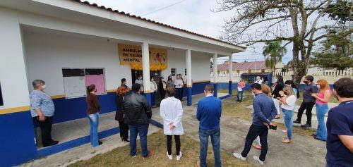 Prefeitura de Pontal do Paraná inaugura ambulatório de saúde mental