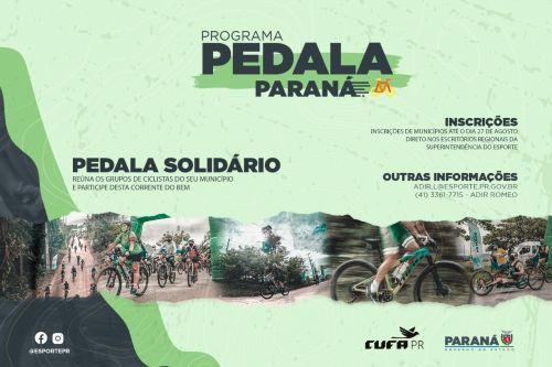 Pedala Paraná no Guaraguaçu acontece este sábado (11) em Pontal do Paraná