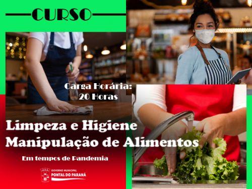 Curso Higiene e Manipulação de Alimentos