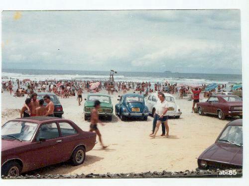Pontal do Paraná, abril de 1985