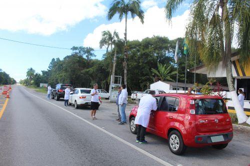 Mais de 500 veículos foram averiguados na Barreira Sanitária no último fim de semana