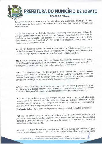DECRETO 856/2021 NOVAS MEDIDAS COVID 19