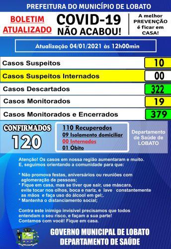 ATUALIZAÇÃO COVID-19