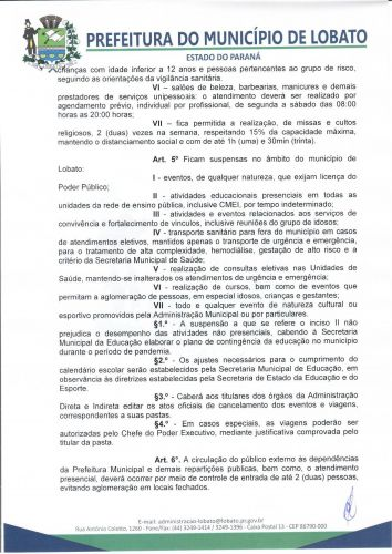 DECRETO 813-2021, DE 18 DE MARÇO DE 2021
