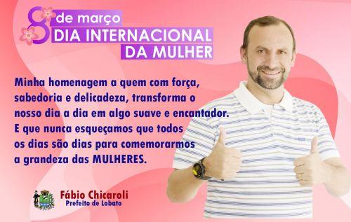 FELIZ DIA DA MULHER !
