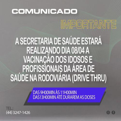 VACINAÇÃO 08/04