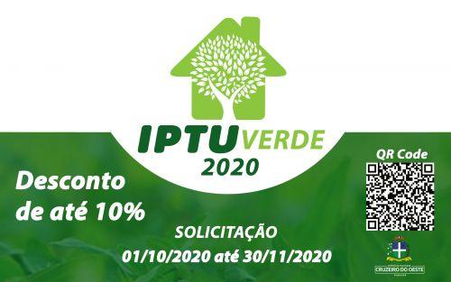 Saiba como solicitar o IPTU Verde e ter até 10% de desconto no seu imposto