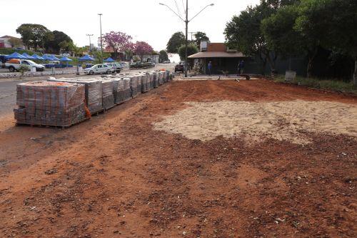 Revitalização - entrada e estacionamento do Parque João Ferreira