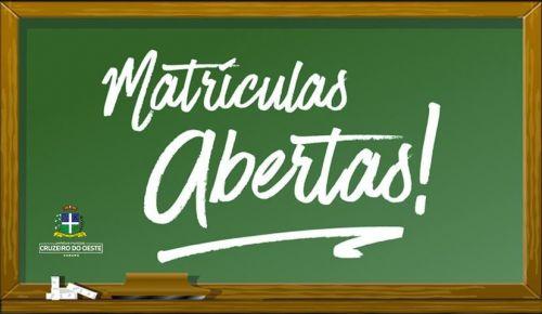 Matrícula da Rede Municipal de Ensino começa hoje (24)