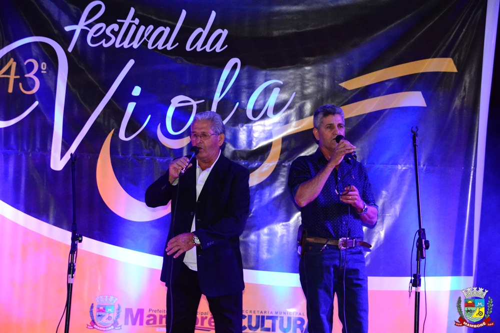Mamborê realizou a 43ª Edição do Festival da Viola