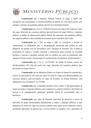 Recomendação Administrativa n° 10-2021