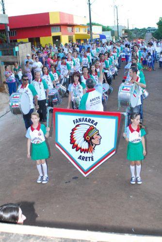 Participe da Fanfarra Municipal de Anahy