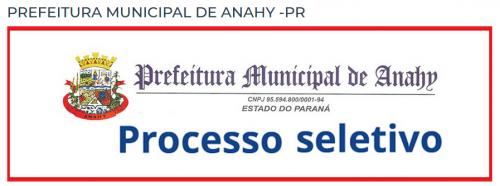 Processo Seletivo nº 02/2021 - inscrições