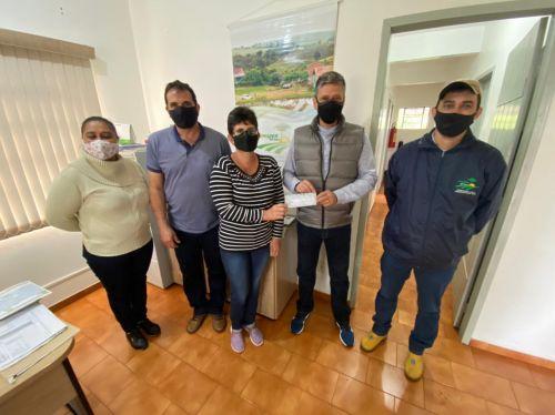 ANAHY REPASSA MAIS DE 100 MIL REAIS PARA AGRICULTORES FAMILIARES PELO PROGRAMA COMPRA DIRETA