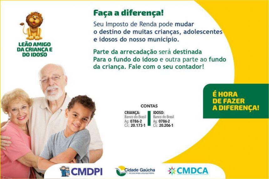 Prefeitura faz campanha para arrecadar doações para o fundo da criança e do idoso!
