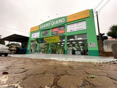 Prefeito e vice prestigiam inauguração das Lojas Quero-Quero em Cidade Gaúcha.