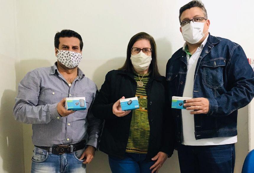 JOAQUIM TÁVORA RECEBE DOAÇÕES DE OXÍMETRO NO COMBATE AO CORONAVÍRUS.