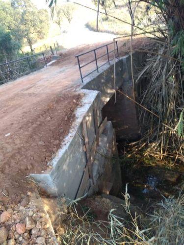 Construção de Ponte Estrada Joá/Antena (Ponte do Bambu)