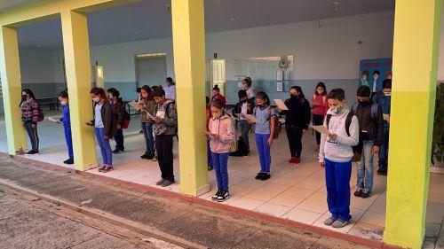 ATIVIDADES NA REDE MUNICIPAL DE ENSINO MARCAM COMEMORAÇÕES NA SEMANA DA PÁTRIA