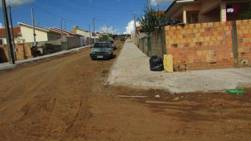 Obra de Pavimentação e Calçada Bairro Vista Bella