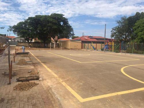 Cobertura da Quadra Poliesportiva da Escola Municipal São José