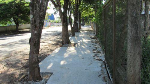 Obra de Calçadas São Roque do Pinhal