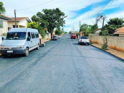Pavimentação Asfáltica ruas do Bairro São Sebastião