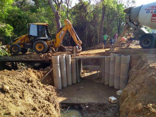 Construção de Ponte Bairro Colônia São Miguel